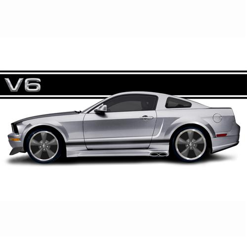2012 mustang v6 coupe. 2005-09 Mustang V6 Coupe