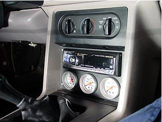 Aftermarket Head Unit Single Or Double Din Mustang