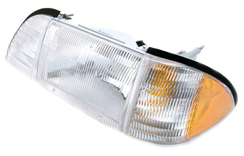 1987-93 Mustang Economy Headlight Kit with Amber Sidemarkers