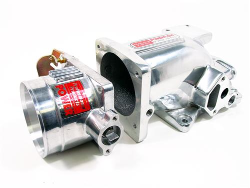 1996-04 Mustang GT 4.6L 2V Professional Products Polished Intake Plenum And Polished 75mm Throttle Body Kit